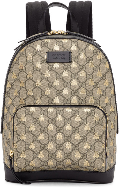 gucci backpack brown bag