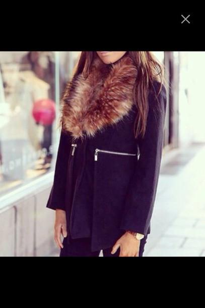 coat fur coat fur scarf faux fur faux fur jacket faux fur coat black jacket black coat long coat black fur coat car coat pea coats car coats and pea coats