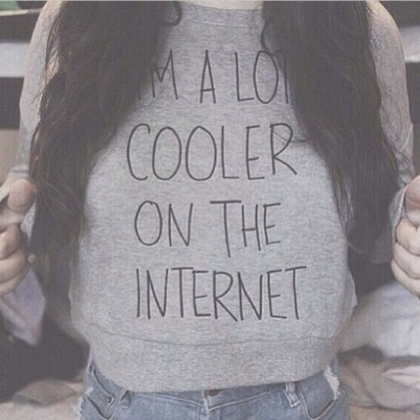sweater quote on it internet
