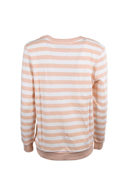 sweatshirt tan cream sweater