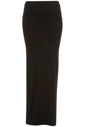 Black Tight Maxi Skirt - Dress Ala