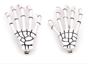 Amazon.com : bemaystar new fashion skeleton hand bone hair clip (white) : beauty