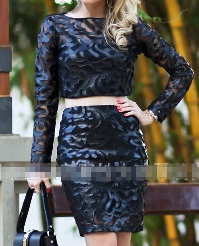 Cute hot fashion dress two piece