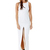White Party Dress - Coconut Isle Dress | UsTrendy