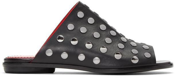Proenza Schouler studded sandals black shoes
