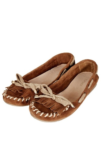 shoes moccasins brown