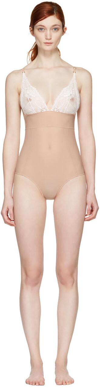 bodysuit pink underwear