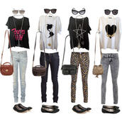 pants,shoes,shirt,purse,glasses,cute,leopard print,swag,trill