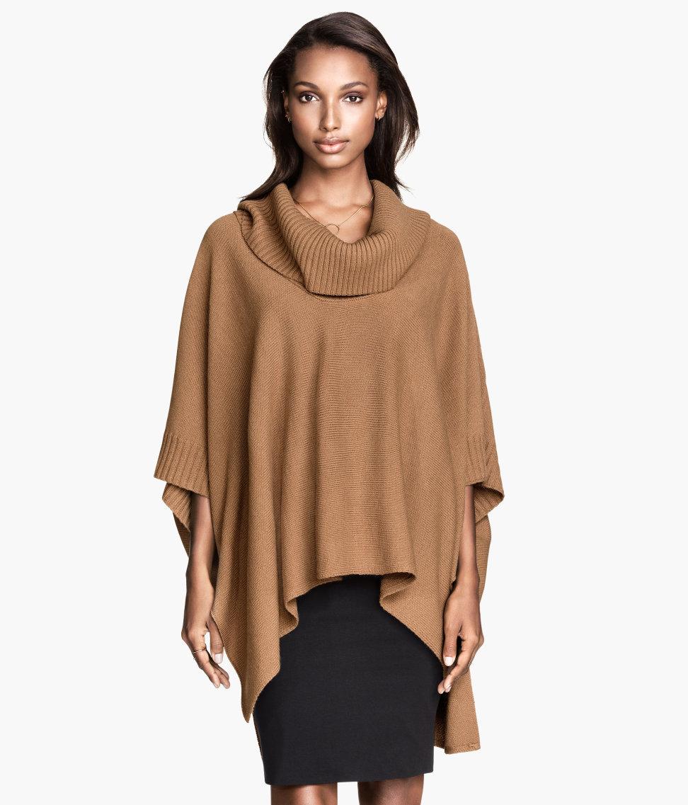 H&M Knit Poncho $29.95
