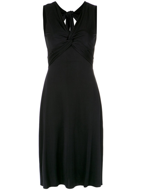 Tufi Duek dress midi dress back women midi spandex black