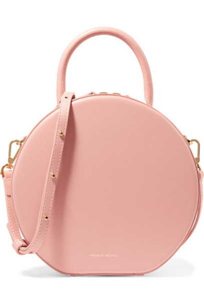 Mansur Gavriel bag shoulder bag leather blush