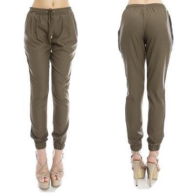 Olive green joggers · trendyish · online store powered by storenvy