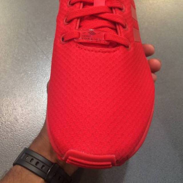 ADIDAS FLUX RED OCTOBER MENS SIZES 9 12 GREAT PRICE!