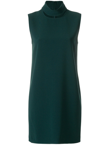 theory dress women slit green