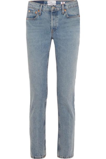 Re/Done jeans denim high light
