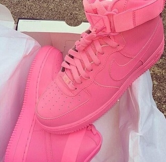 shoes pink shoes air force 1 pink nike sneakers air force ones pink air force ones