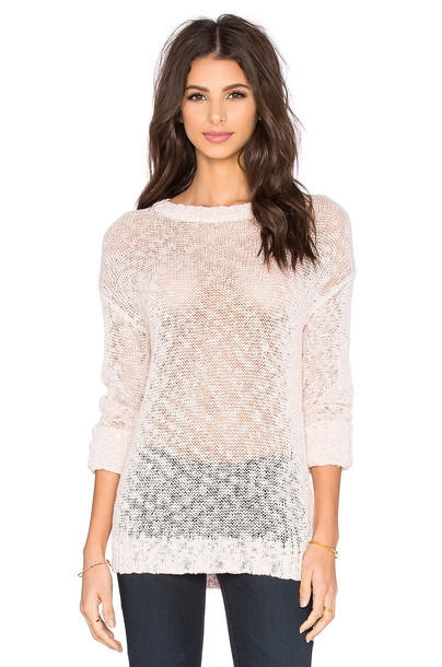FEEL THE PIECE sweater pink