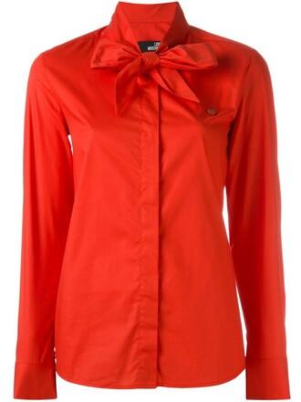 shirt heart red top