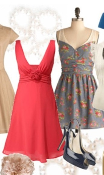 dress printed dress red dress lace