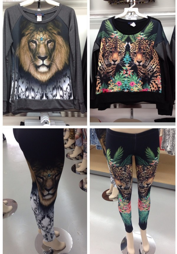 pants jungle sweater
