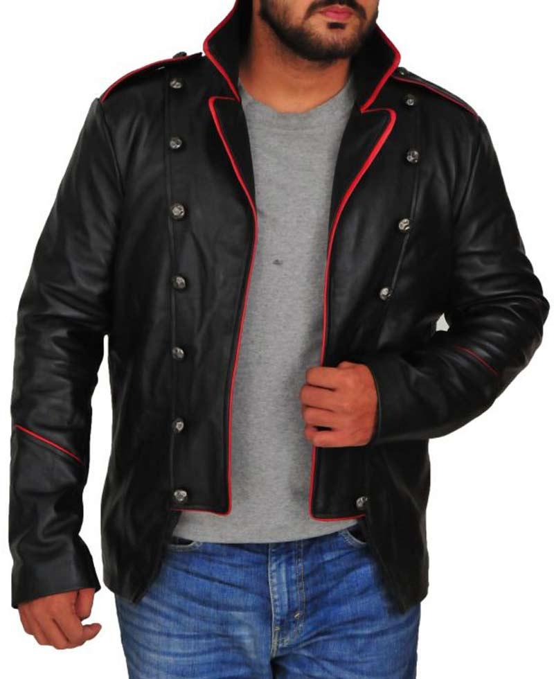 Lucifer Supernatural Vince Vincente Leather Jacket - Films Jackets