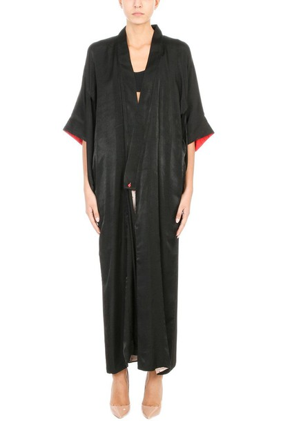 Giacobino dress oversized black