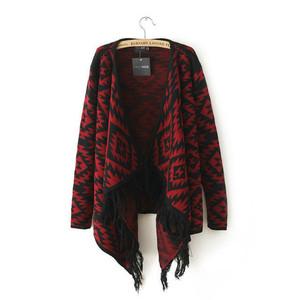 aztec clothes cardigan knitted cardigan lookbook look