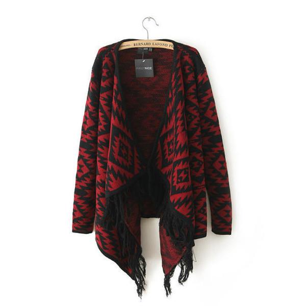 cardigan lookbook look knitted cardigan clothes aztec