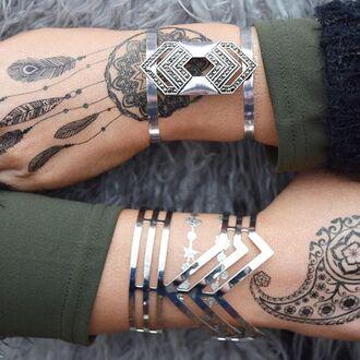 jewels cherry diva bracelets boho jewelry boho bohemian silver silver jewelry