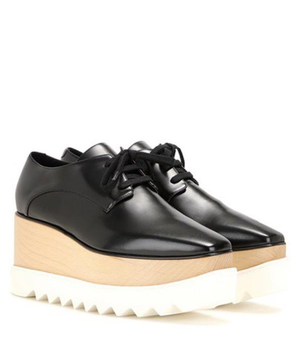 Stella McCartney Elyse Platform Derby Shoes in black