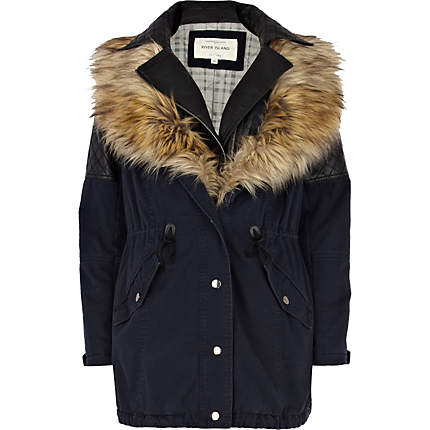 3 in 1 faux fur parka jacket - parkas - coats / jackets - women