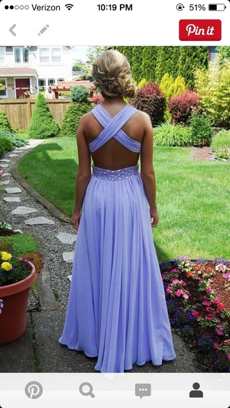 dress prom dress lavender prom dresses backless prom dress long gown