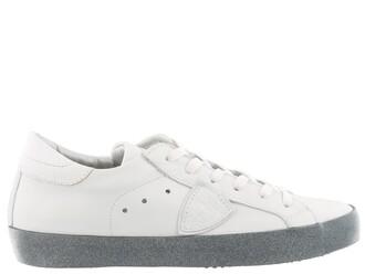 glitter paris sneakers blanc shoes