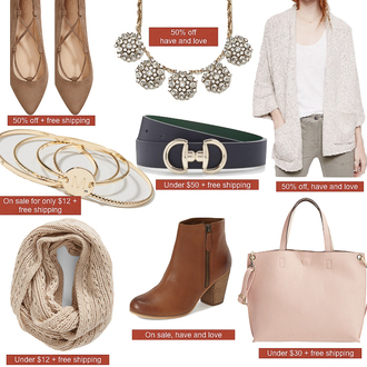 stylish petite blogger jewels cardigan belt scarf shoes bag jeans t-shirt necklace ankle boots pink bag