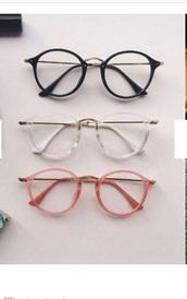 sunglasses,girly,girly wishlist,glasses,black,pink,clear