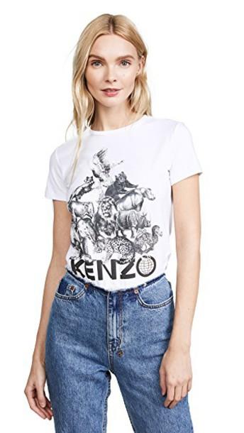 Kenzo t-shirt shirt t-shirt white top
