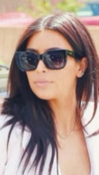 e708ce3a51de Kim Kardashian Black Aviator Sunglasses Brand « Heritage Malta