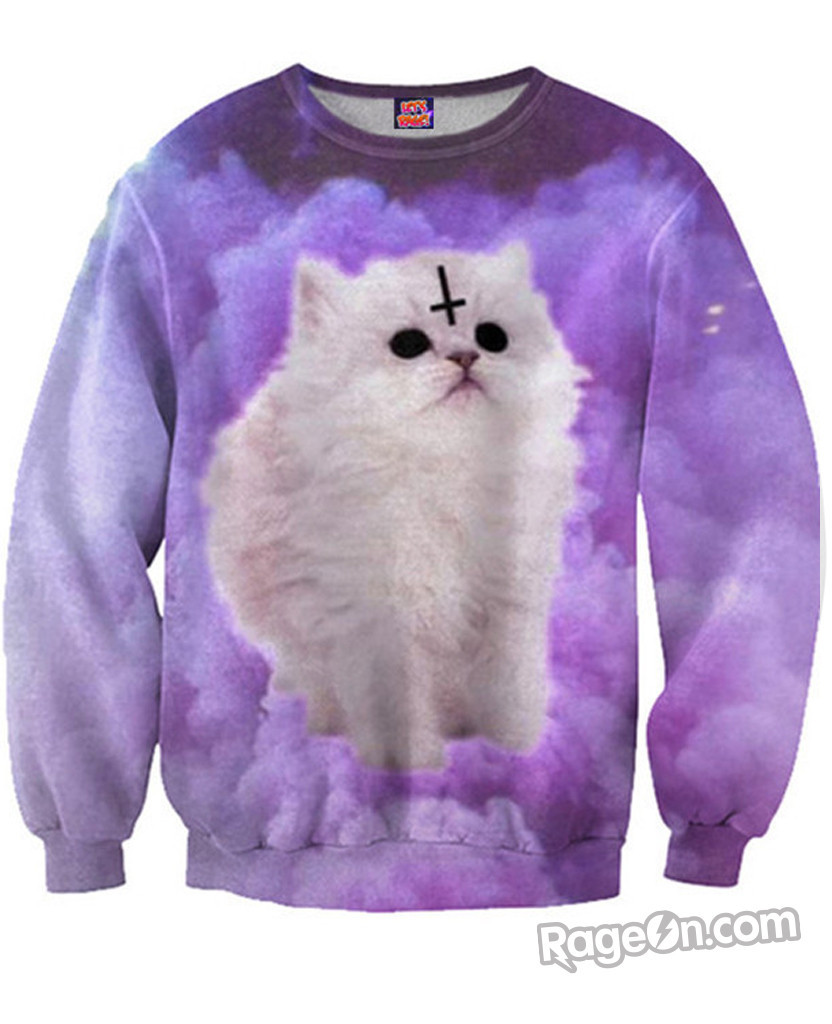 Satan Cat Sweatshirt