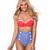 Ladies High Waist Waisted Bikini Bottom Polka Dots Padded TOP Sheridyn Swimwear   eBay