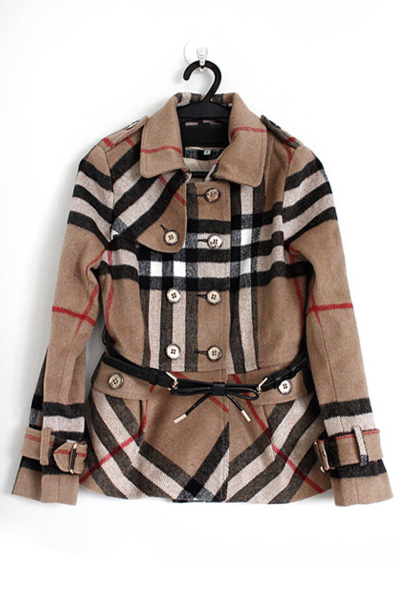 2013 Short Section Double Breasted Cashmere Woolen Overcoat,Cheap in Wendybox.com