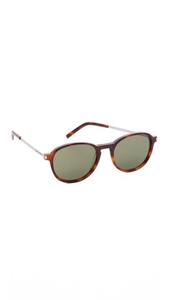 light sunglasses green