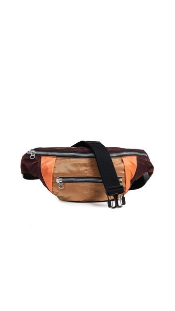 Isabel Marant Noomi Belt Bag in burgundy