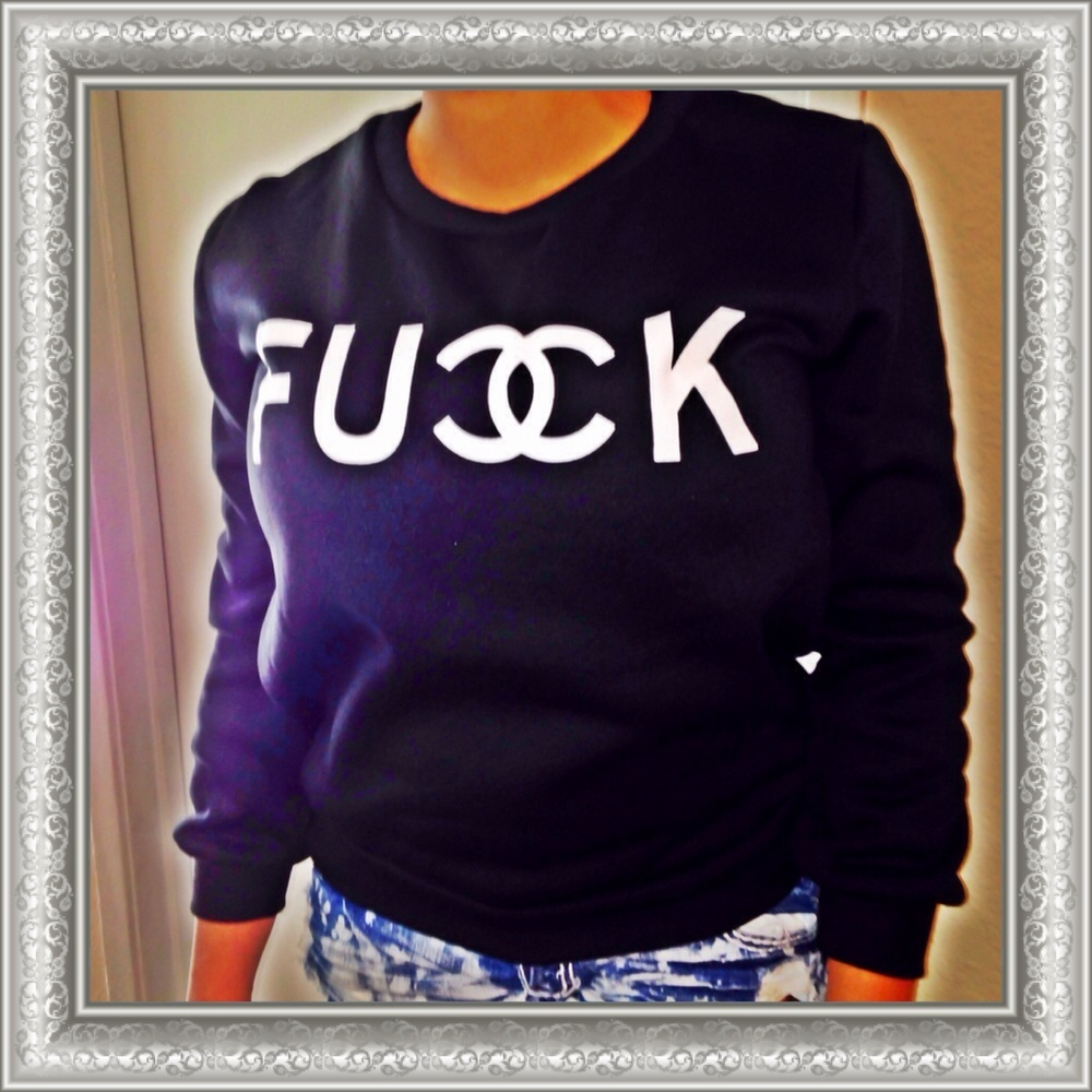 F U * K Sweater / The SugarBaby Shop