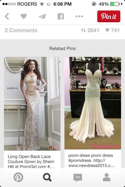 dress prom dress sexy jewels