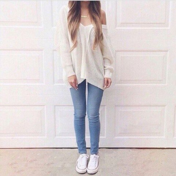 bmnda5-l-610x610-blouse-white+sweater-tumblr+outfit-tumblr+sweater-jeans-converse+shoes-blonde+hair.jpg