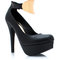 Gj | perfectly plated pumps $34.50 in black nude - heels | gojane.com