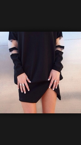 see through black style stripes sweater black t-shirt tumblr outfit tumblr shirt black friday cyber monday