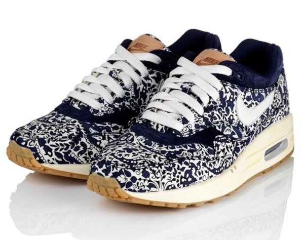 shoes nike shoes air max cute shoes liberty air max floral trainers nike liberty of london 2012 air max liberty blue white