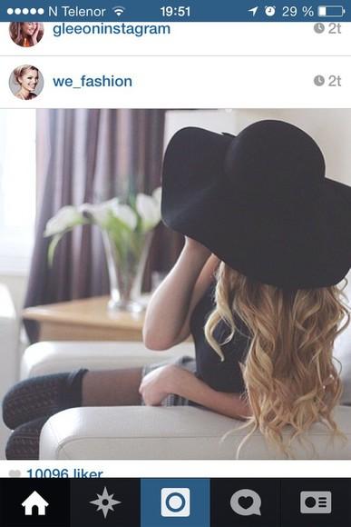 floppy hat sun hat hat felt hat