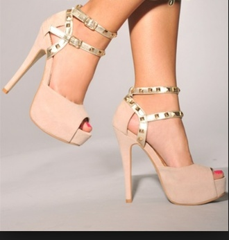 shoes high heels homecoming cream high heels studded shoes pumps wedges platform shoes beige silver prom dress brown dress shorts